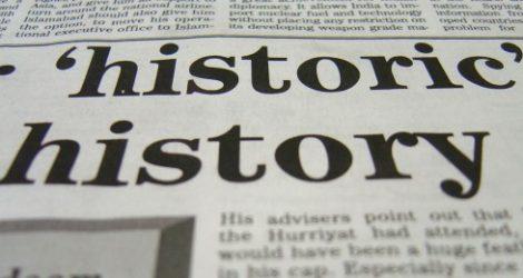 Print tidning