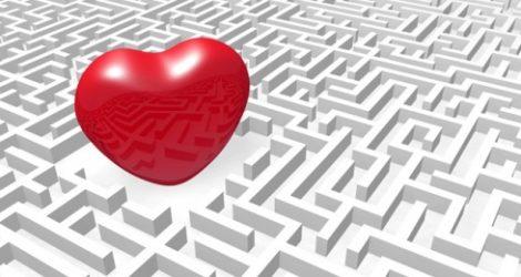 Hjärta i en labyrint