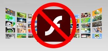 Inget mer Adobe Flash i Chrome.