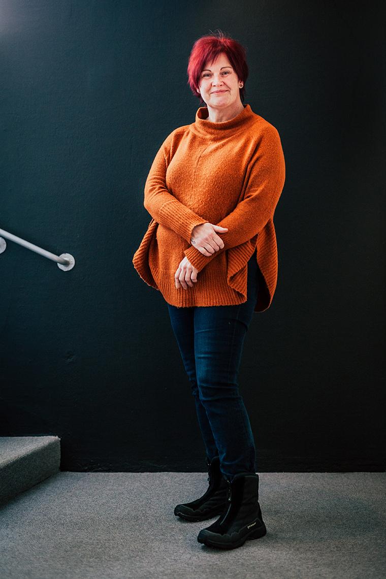 Panang Kommunikations medarbetare Lise-Lotte Bränd, Ekonomi/administration