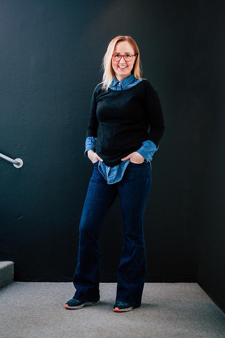Panang Kommunikations medarbetare Elsa Wiliow, Produktionsledare