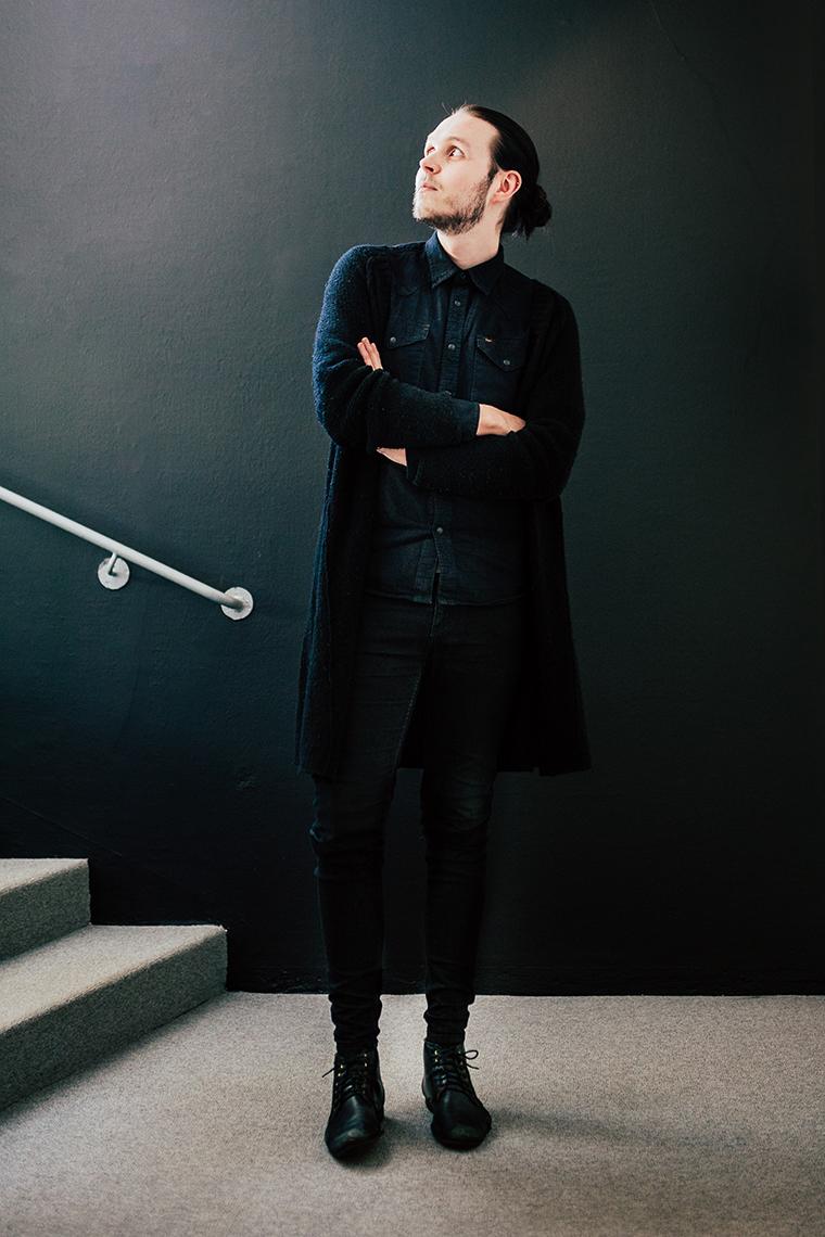 Panang Kommunikations medarbetare Alexander Backlund, Digital Designer