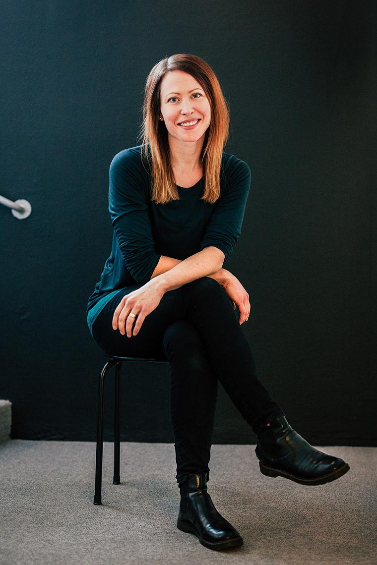 Panang Kommunikations medarbetare Alvina Garpebring, Digital Designer