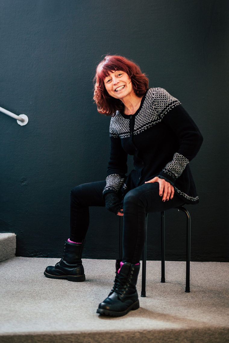 Panang Kommunikations medarbetare Catarina Malm, Grafisk designer