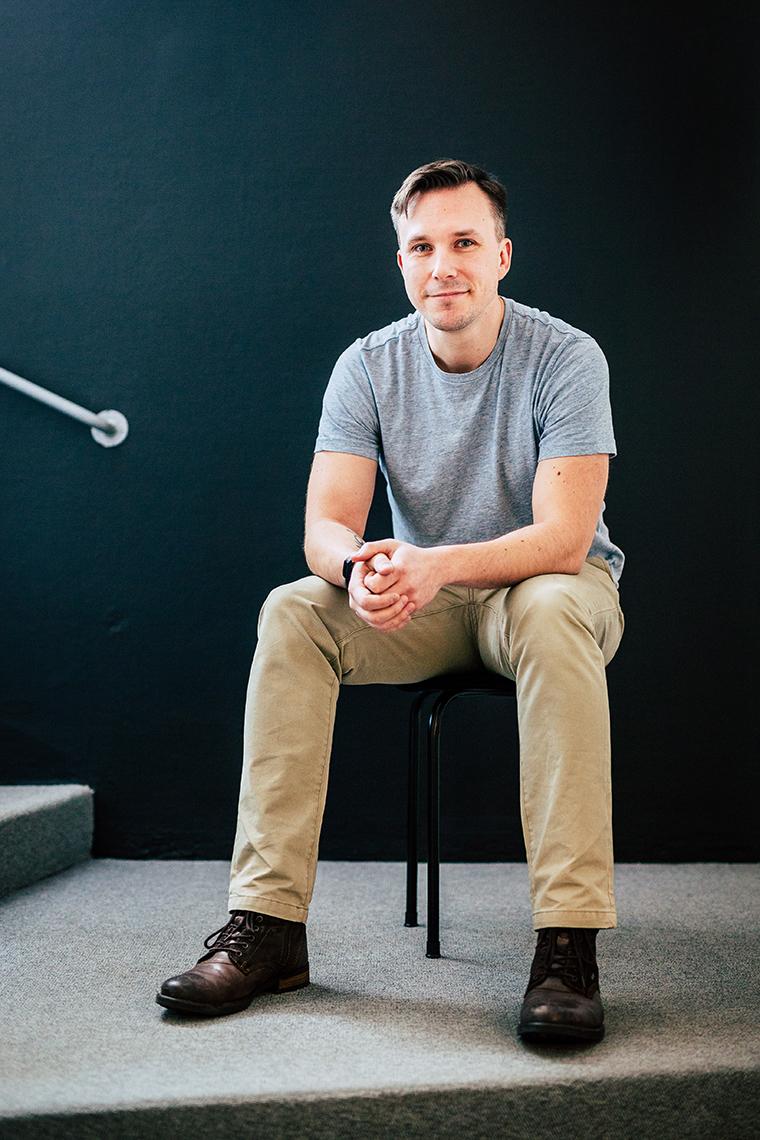 Panang Kommunikations medarbetare Jonas Grenfeldt, Digital strateg