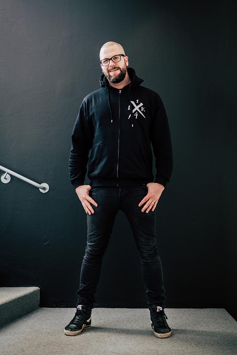 Panang Kommunikations medarbetare Andreas Thunmarker, projektledare