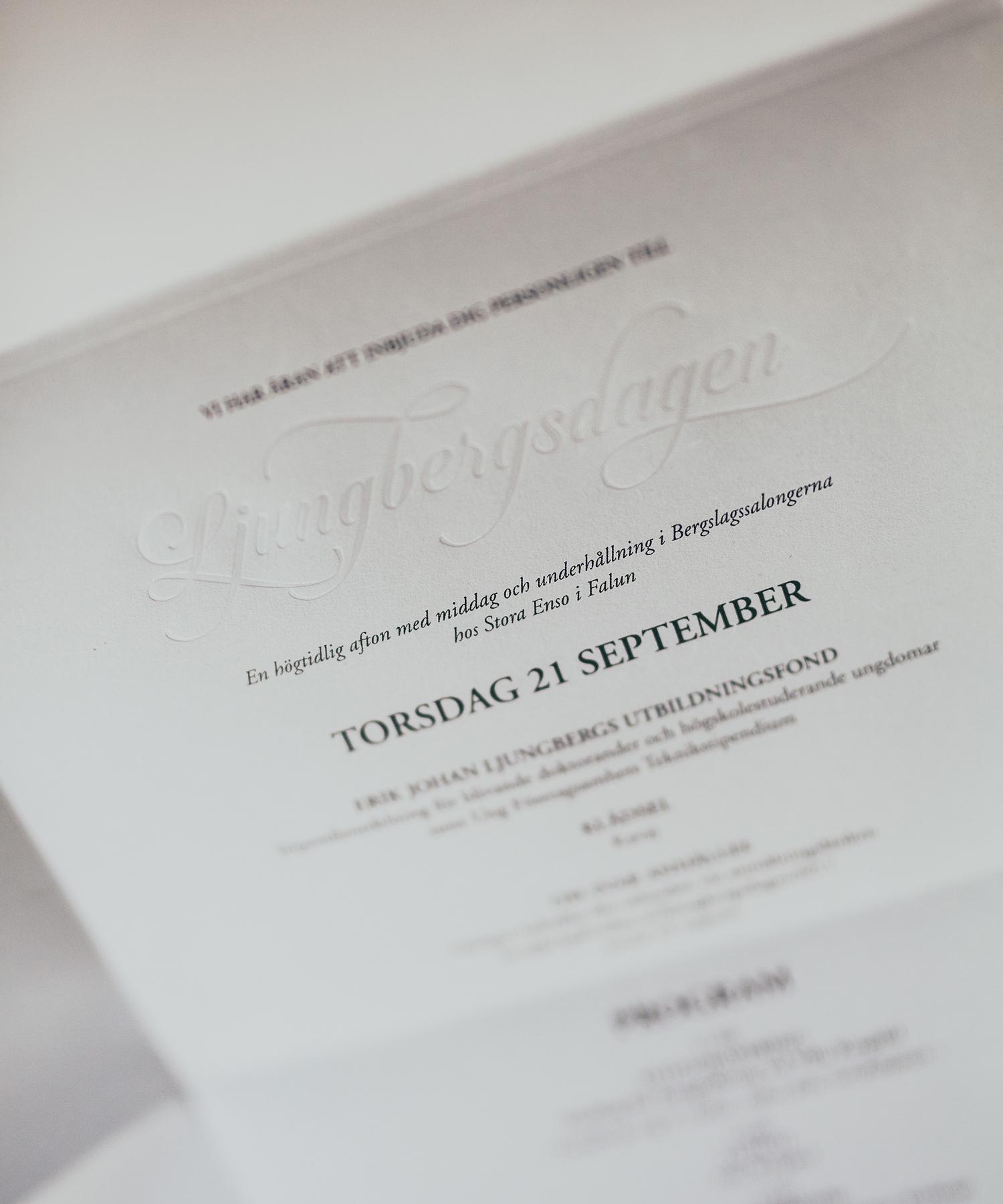 Inbjudan till Ljungbergsdagen 2017