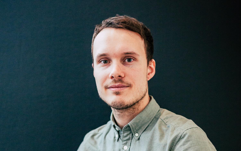 Victor Bergström, utvecklare på Panang Kommunikation AB