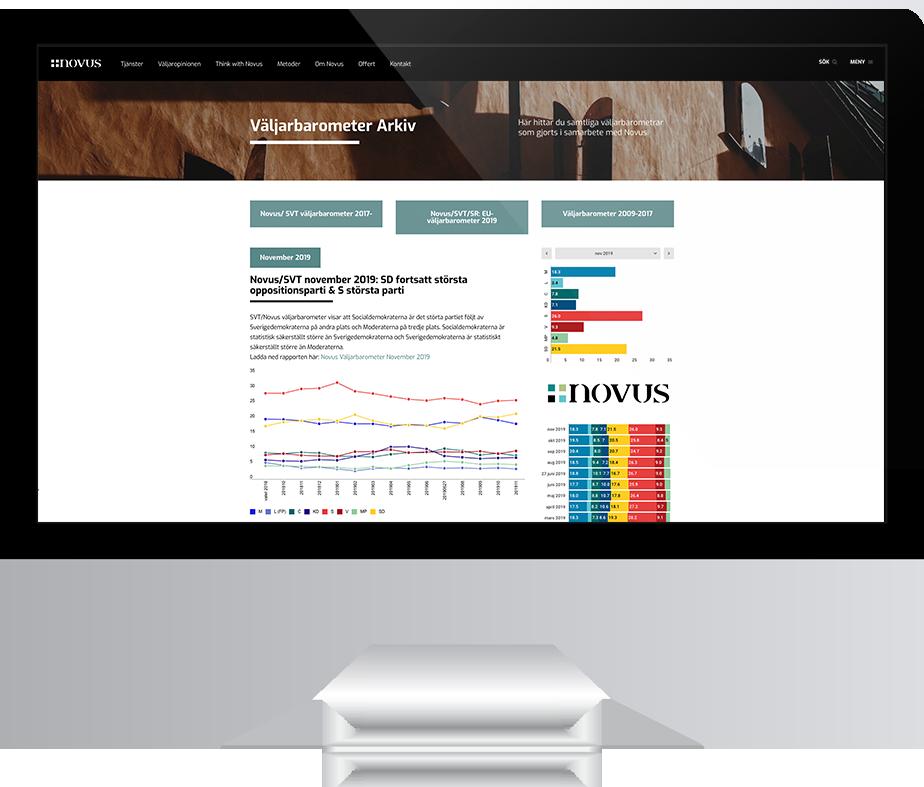 Ny webbplats till Novus.se av Panang Kommunikation, 2019