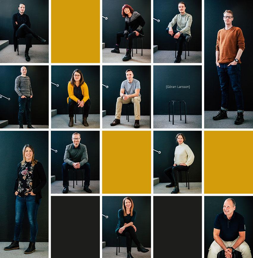 Alla våra medarbetare på Panang Kommunikation i Falun, Dalarna